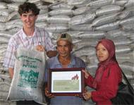Chris Dorahy in Aceh